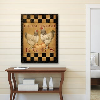 Beth Albert 'Farm Fresh Eggs' Canvas Print Wall Art