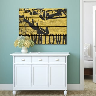 iHD Studio 'Dowtown' Canvas Print Wall Art