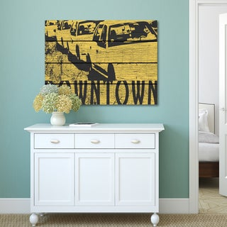 Portfolio Canvas Decor iHD Studio 'Dowtown' Canvas Print Wall Art