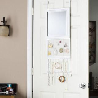 Harper Blvd Kristen Over-the-Door Jewelry Storage/ Mirror