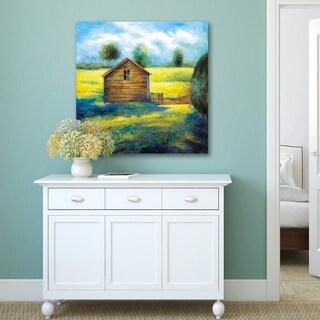Portfolio Canvas Decor Sandy Doonan 'Country Barn ii' Canvas Print Wall Art