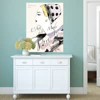 Portfolio Canvas Decor Frank Parson 'Collections 8 Septembre' Stretched and Wrapped Canvas Wall Art Print