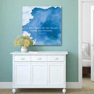 iHD Studio 'Classy & Fabulous iii' Canvas Print Wall Art