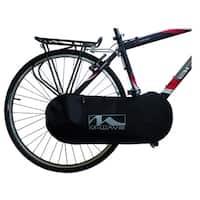 M-Wave Rotterdam Black Nylon Chain Cover Bag