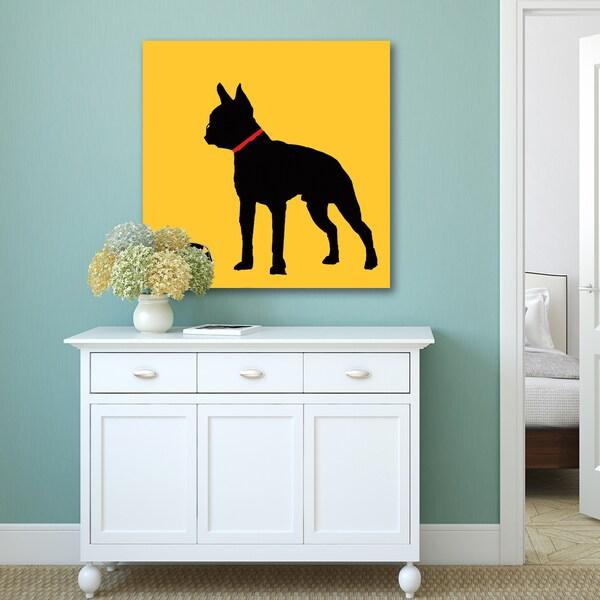 Portfolio Canvas Decor Soraya Chemaly \'Four Dogs I\' Print Wall Art ...