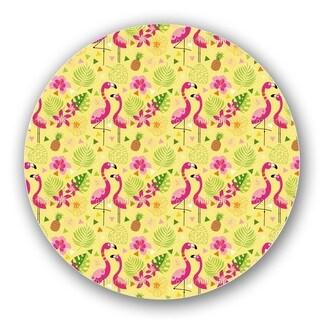 Flamingo Paradise Lazy Susan