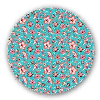 Exotic Flower Power Lazy Susan