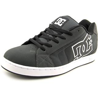 DC Shoes Men's 'Net' Nubuck Grey Athletic Shoes