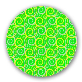Curly Green Lazy Susan
