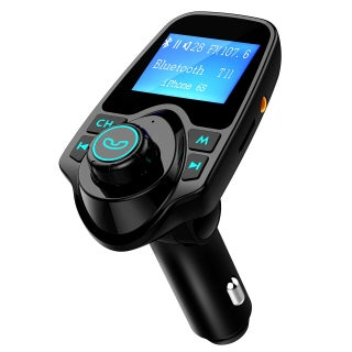 Bluetooth FM Transmitter 3.5mm Wireless Audio Input/ Output USB Car Charger Kit