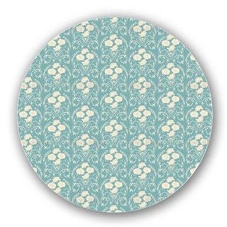 Rose Blue Lazy Susan