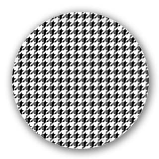 Houndstooth Time Travel Lazy Susan
