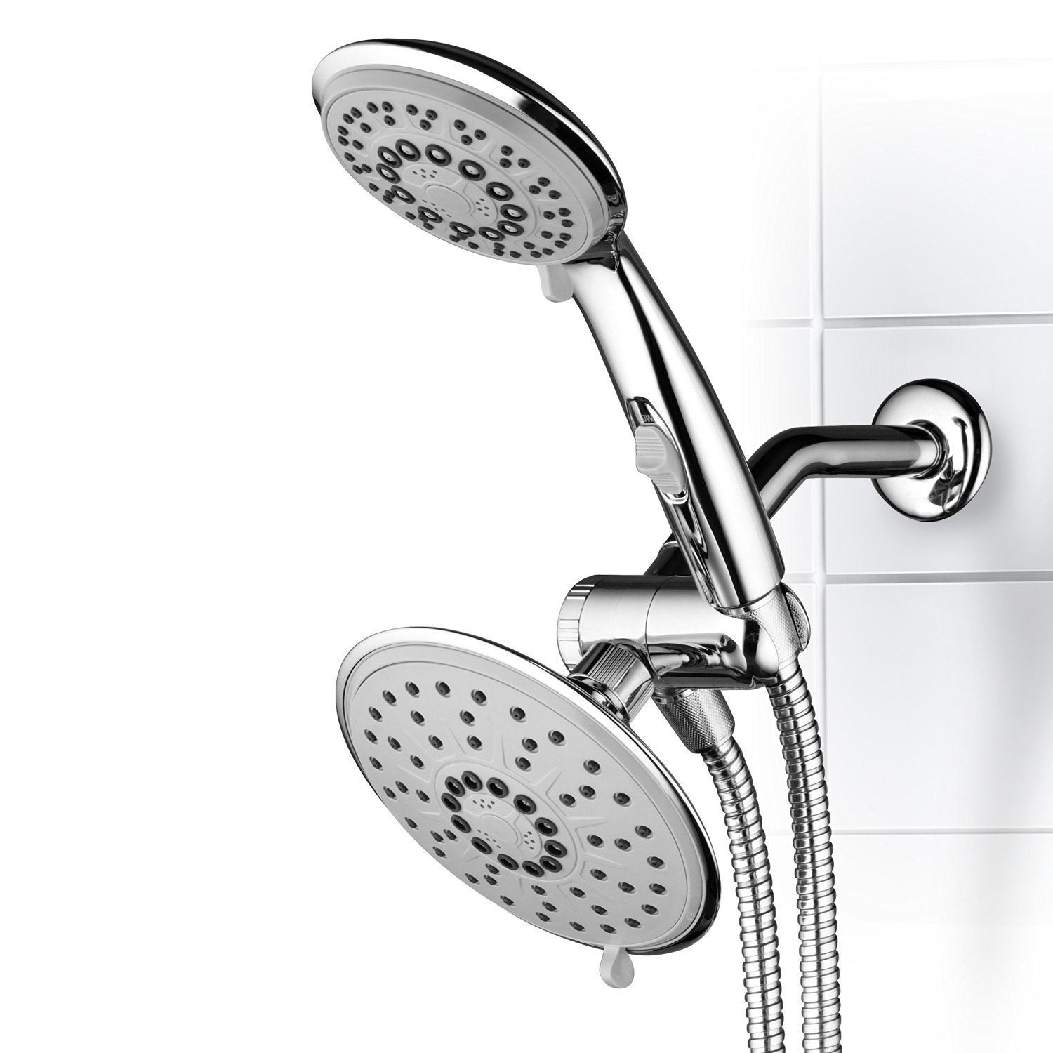 Interlink Hydroluxe 30-Setting 3-Way Rainfall Shower Head...