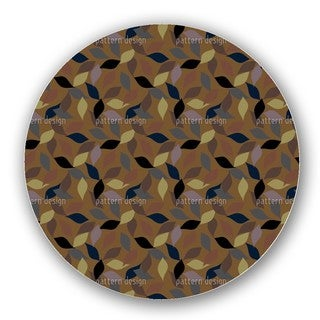 Harmony Of Leaves Lazy Susan