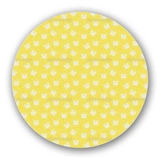 Violetta Yellow Lazy Susan