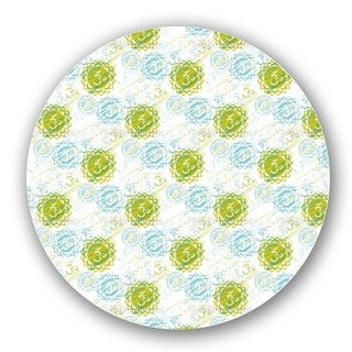 Om Green Lazy Susan
