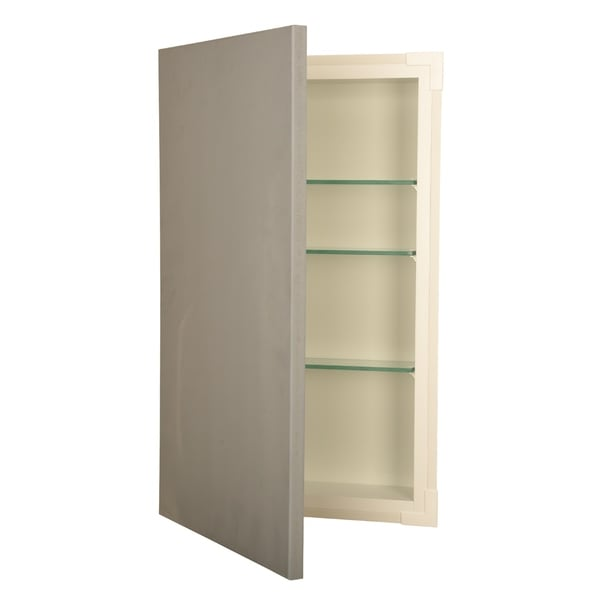 Wg Wood Products Gl Recessed Frameless Bathroom Wall Cabinet
