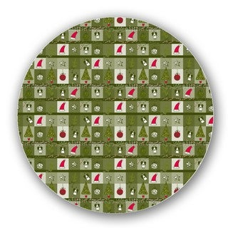 Christmas Dream Green Lazy Susan