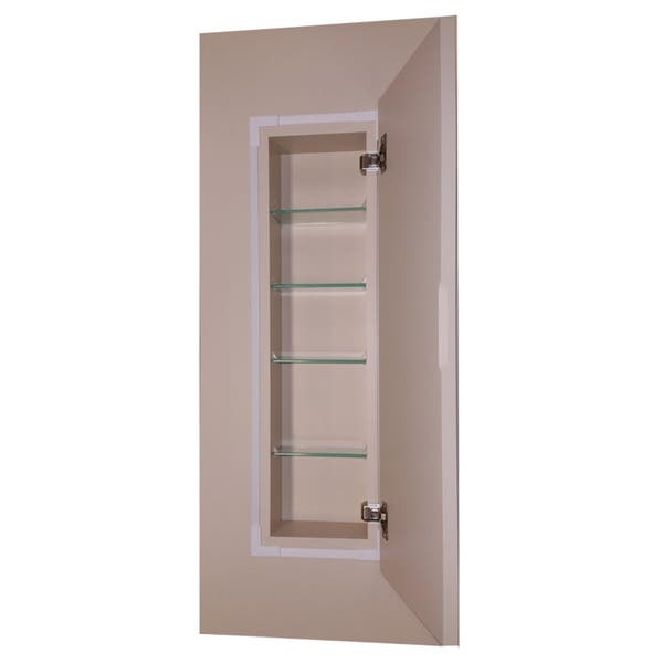 58 Inch Ready To Paint Recessed Wall Cabinet 2 5