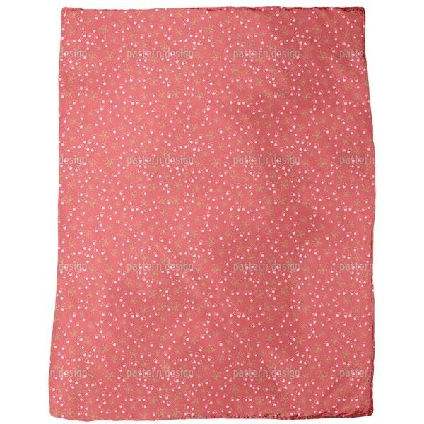 Petite Flower Fleece Blanket