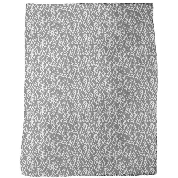 Secret of Branches Fleece Blanket