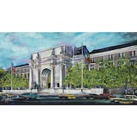 Stephen Fishwick 'American Museum of Natural History' Wrapped Canvas Wall Art