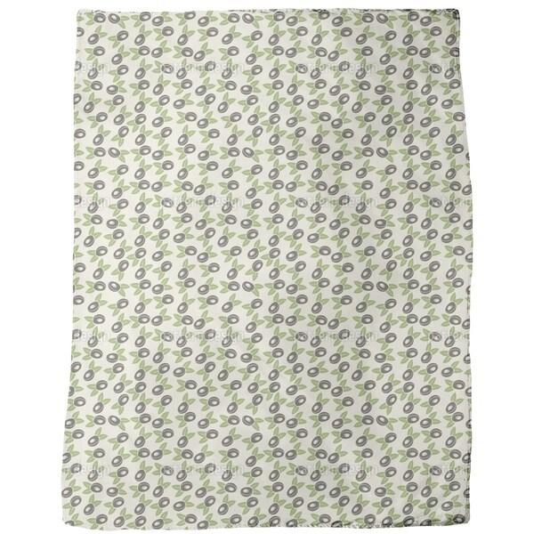 Fresh Plum Fleece Blanket