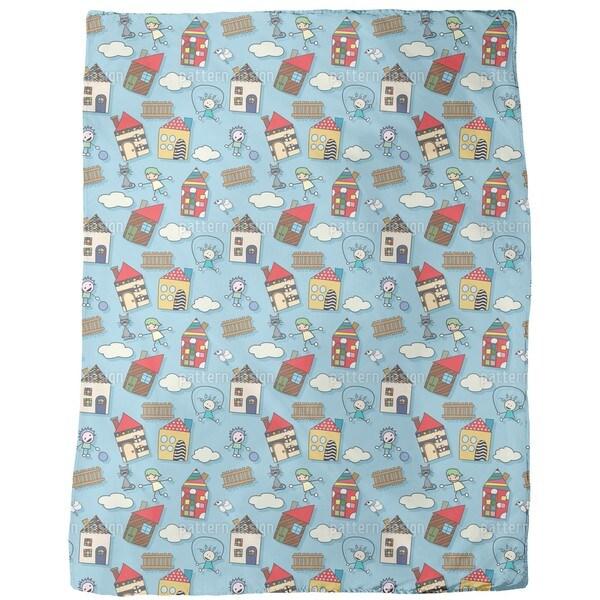 Heavenly Home Fleece Blanket