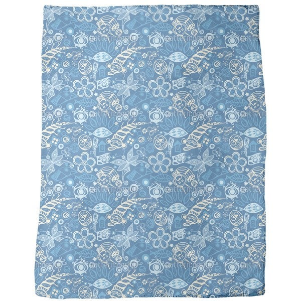 Ocean of Dreams Fleece Blanket