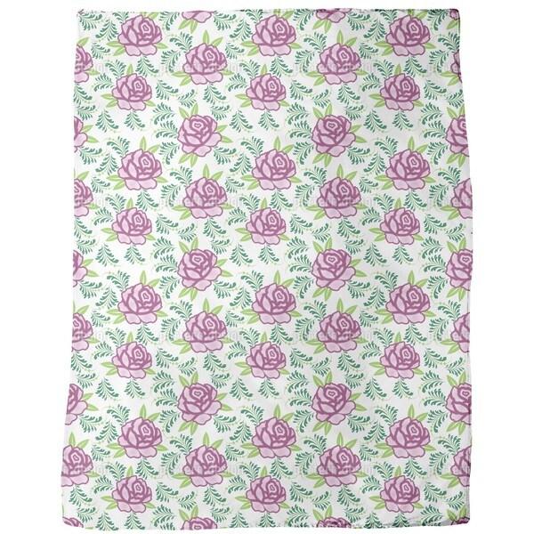 My Scottish Rose Fleece Blanket