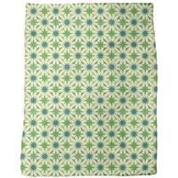 Etoiles Du Vert Fleece Blanket