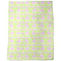 Neon Baby Pink Fleece Blanket