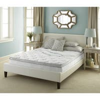 Sleep Sync Euro Top 10-inch Full-size Mattress - WHITE