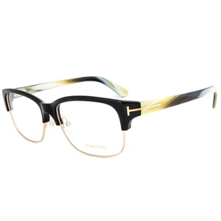 Tom Ford FT5307 001 Rectangular Eyeglasses Frame