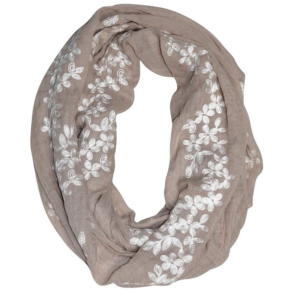 Peach Couture Women's Floral infinity Loop Scarf. Opens flyout.