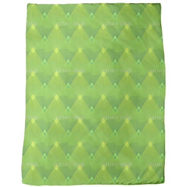 Little Green Lanterns Fleece Blanket