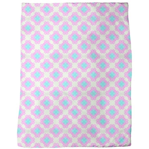 Pentagon Diamonds Fleece Blanket