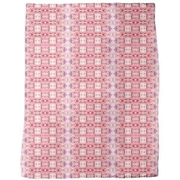 Temple Rose Fleece Blanket