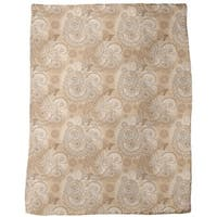 Indian Lace Fleece Blanket
