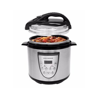 Big Boss Stainless Steel 6.3-quart Automatic Pressure Cooker