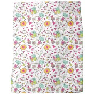 Cupids Fundus Fleece Blanket