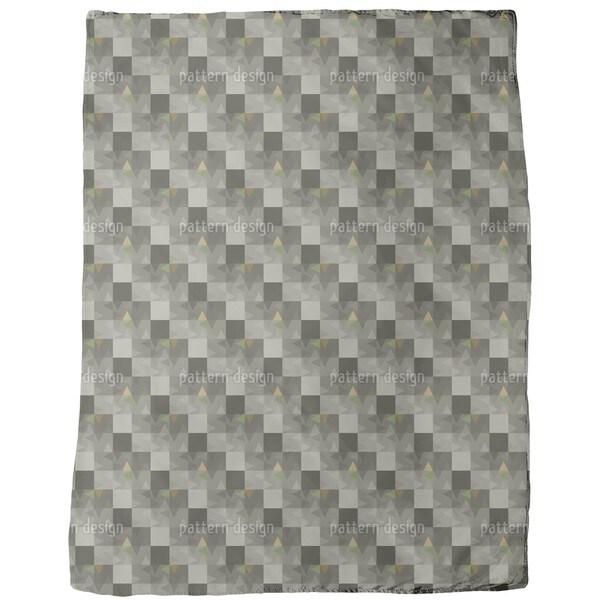 Geometric Echo Fleece Blanket