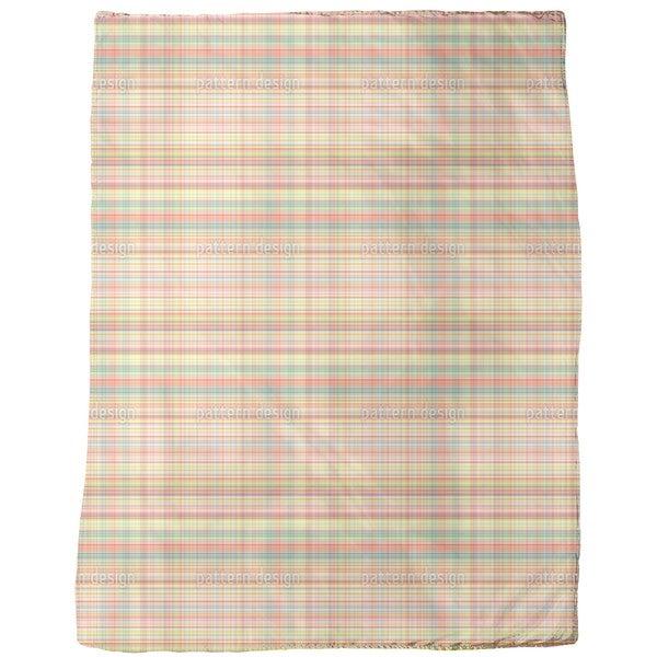 Multicolor Weave Fleece Blanket