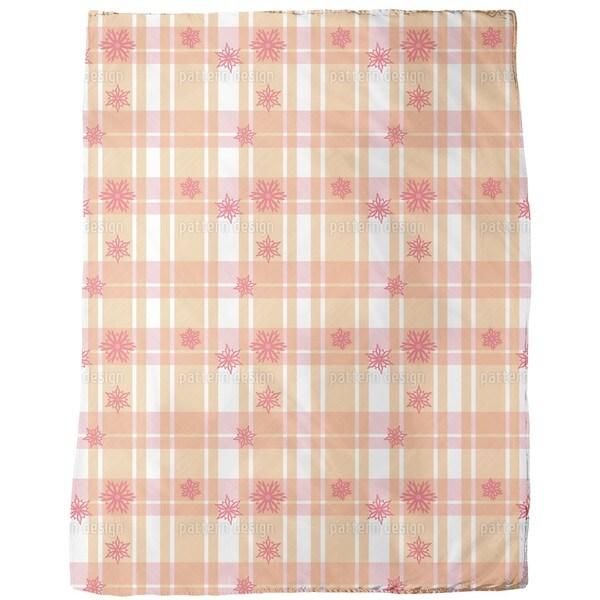 Scottish Stars Fleece Blanket