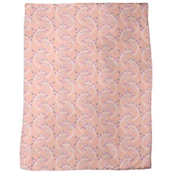 Branch Asia Fleece Blanket