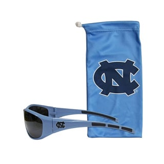 NCAA Sports Team Logo N. Carolina Tar Heels Sunglass and Bag Set