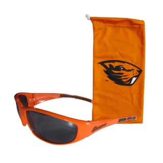 NCAA Sports Team Logo Oregon State Beavers Sunglass and Bag Set