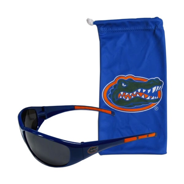 NCAA Sports Team Logo Florida Gators Sunglasses and Bag Set