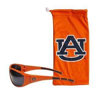 NCAA Auburn Tigers Sports Team Logo Sunglasses and Bag Set