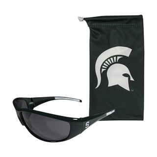 NCAA Sports Michigan State Spartans Sunglass and Bag Set